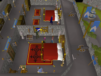 Cryptic clue - search drawers lumbridge castle
