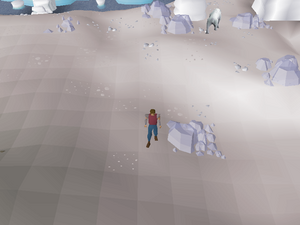 Hot cold clue - Polar Hunter area