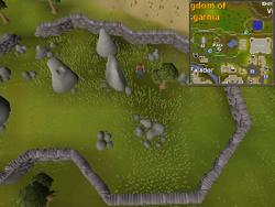 Map clue solution Falador stones