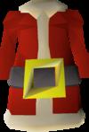 Santa jacket detail