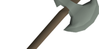 Leaf-bladed battleaxe