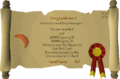 Recipe for Disaster (Freeing King Awowogei) reward scroll.png