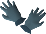 Rune gloves detail