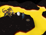 Emote clue - panic lava dragon isle