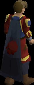 Deadman's cape equipped