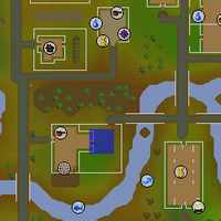 Hot cold clue - east of Watson's house map