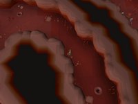 Cryptic clue - Dig Abyss law rift