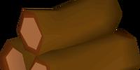 Redwood pyre logs