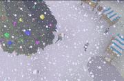 Snowy Varrock Square