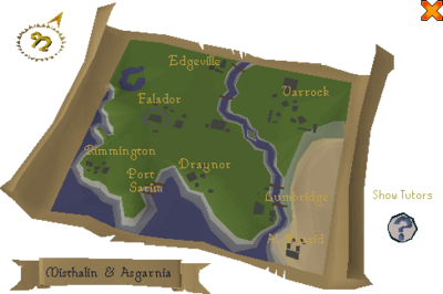 Newcomer map screen