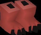Evil chicken feet detail