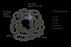 Jatizso mine map