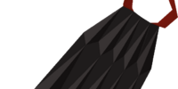 Obsidian cape
