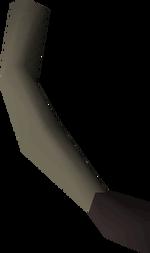 Monkey tail detail