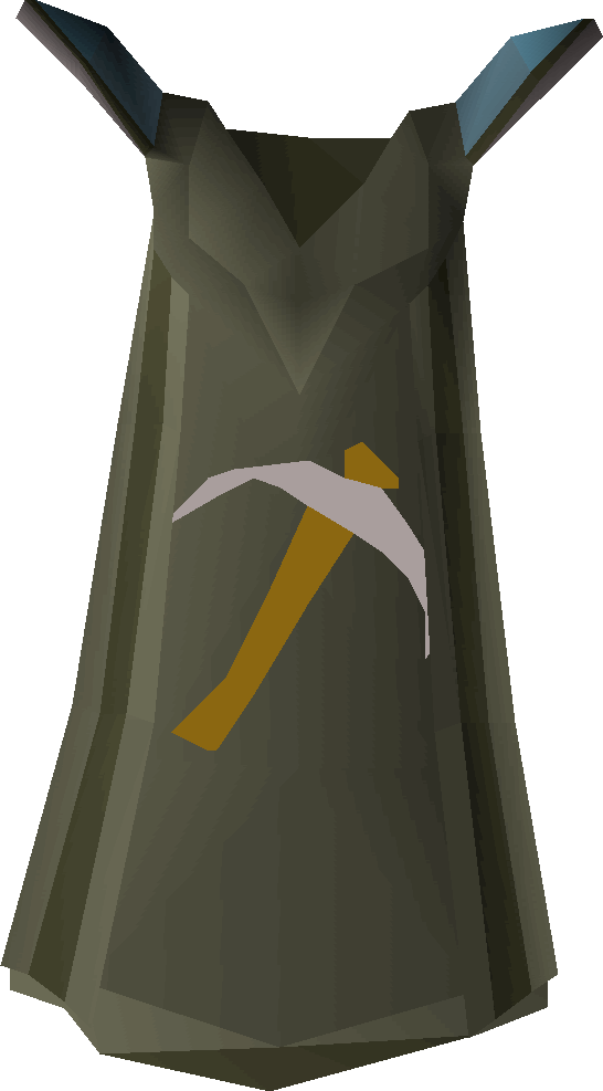 Mining cape detail