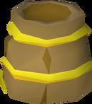 Bucket helm (g) detail