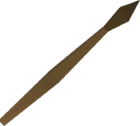 Bronze javelin detail