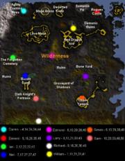 Team cape seller's map