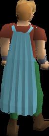 Fremennik cyan cloak equipped