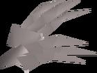 White claws detail