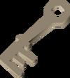 Metal key detail