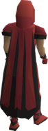 Graceful cape (Shayzien) equipped