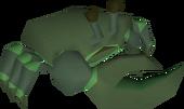 Dark crab detail