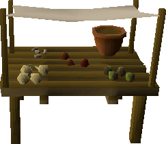 Seed stall