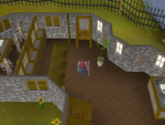 Emote clue - raspberry fishing guild bank