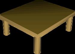 Kitchen table built