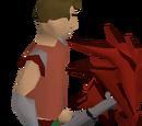 Dragon pickaxe (or)