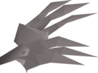 Steel claws detail