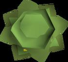 Cabbage round shield detail