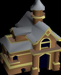 Mahogany house built