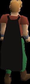 Fremennik black cloak equipped
