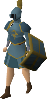 Bandos rune armour set (sk) equipped