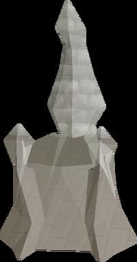 Crystal throne built