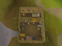 Cryptic clue - speak doric falador