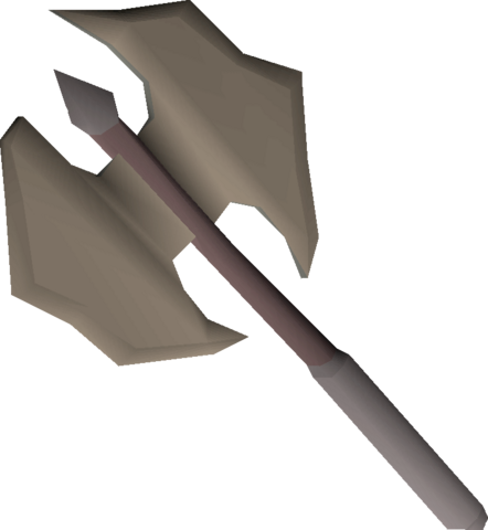 File:Dwarven battleaxe (rusty) detail.png