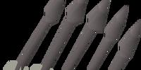 Iron bolts