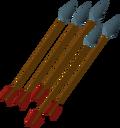 Rune arrow detail