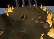 Crash Site Cavern entrance