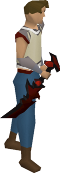 Abyssal dagger equipped
