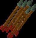 Adamant arrow detail