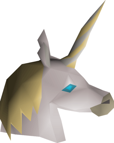 File:White unicorn mask detail.png