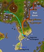 Wyvern runner routes