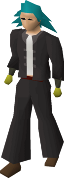 Mining gloves equipped