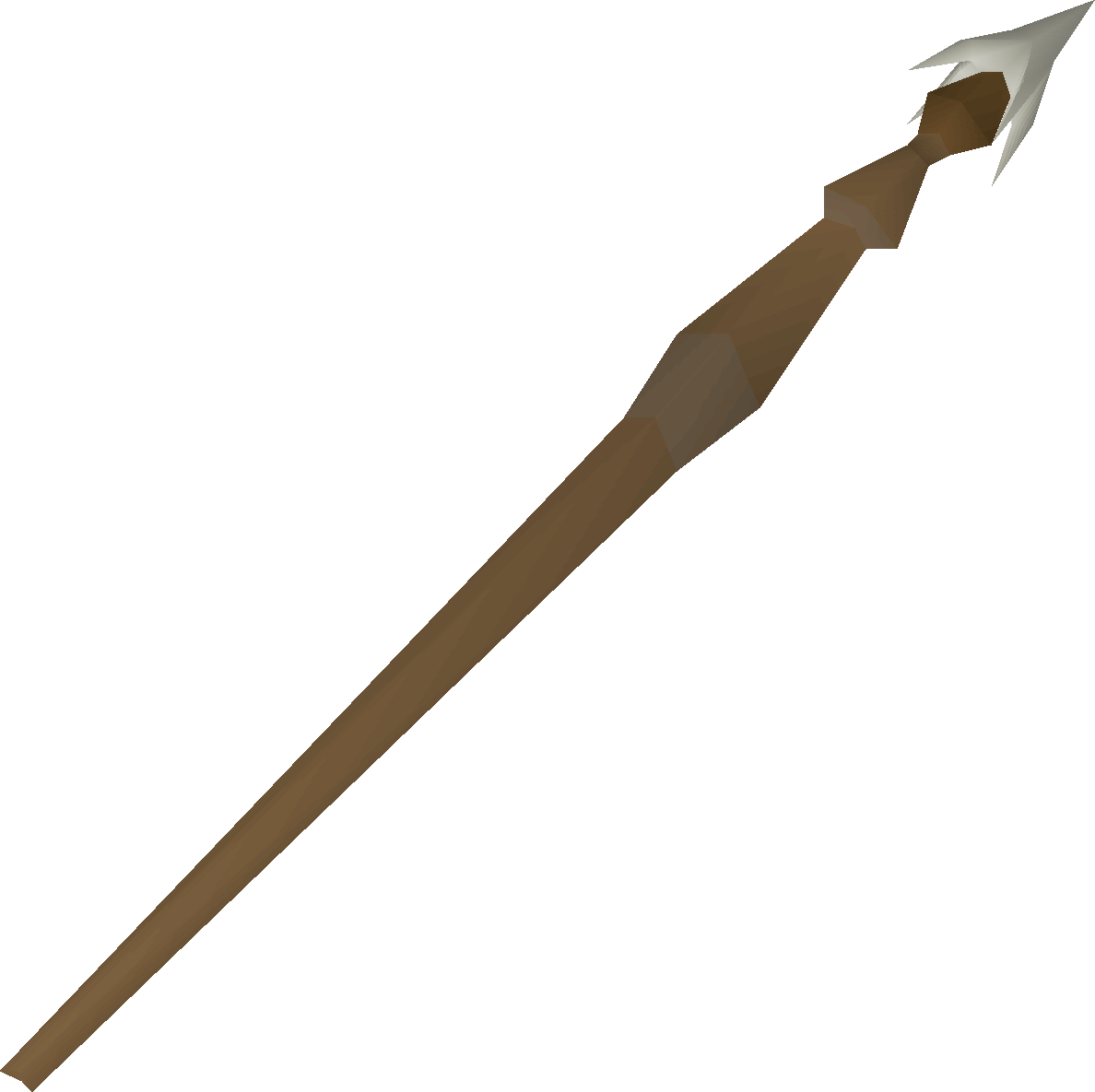 Barb-tail harpoon detail