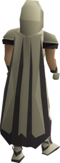 Graceful cape equipped
