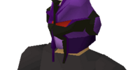 Purple slayer helmet